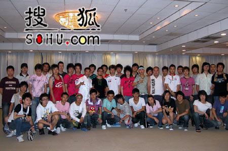 《梦想中国》北京赛区:资格赛男子组选手
