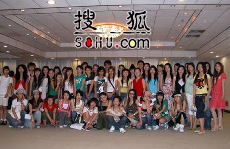 《梦想中国》北京赛区:资格赛女子组选手