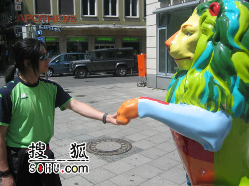搜狐明星军团游览花絮(19)