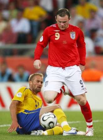 组图:瑞典VS英格兰 鲁尼能否突破