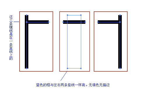 在Illustrator中标尺寸的方法讨论