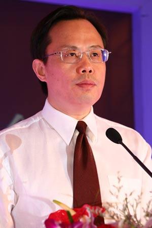 图文:北京市海淀区委副书记,区长周良洛致词