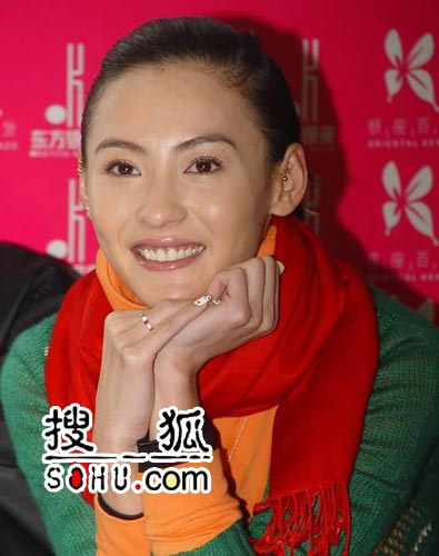 张柏芝跛脚赶完《周璇》 剧集将于9月播出(图)
