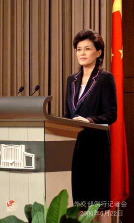 外交部就朝鲜试射导弹青藏铁路开通等答问(图)