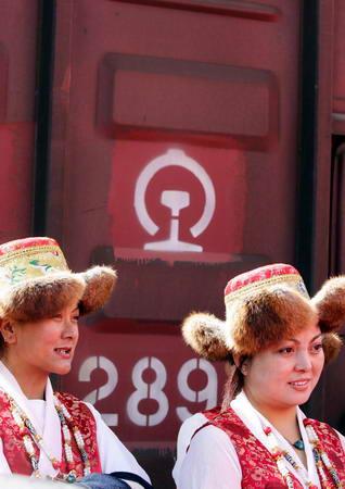 图文:藏族礼仪小姐