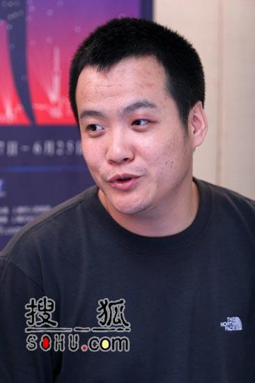 搜狐娱乐宁浩专访:跟世界杯PK也不怕(图)
