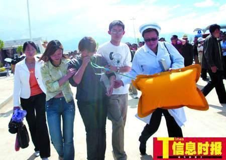 青藏铁路拉萨火车站首次大演练(组图)