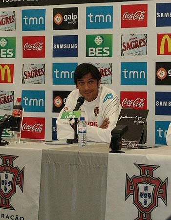 直击葡萄牙队发布会 波斯蒂加把问题推给费雷拉