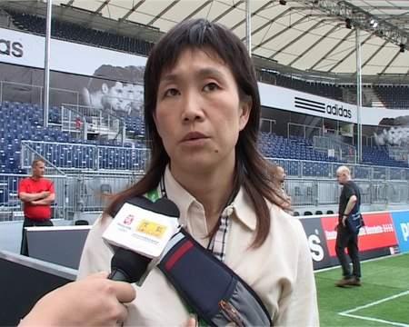 专访温莉蓉:考察收获多 中国支持07女足世界杯