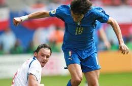 06德国世界杯之星,因扎吉,潜水艇,意大利