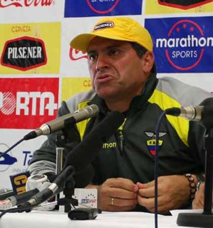 搜狐直击厄瓜多尔发布会 主帅称找到英格兰软肋