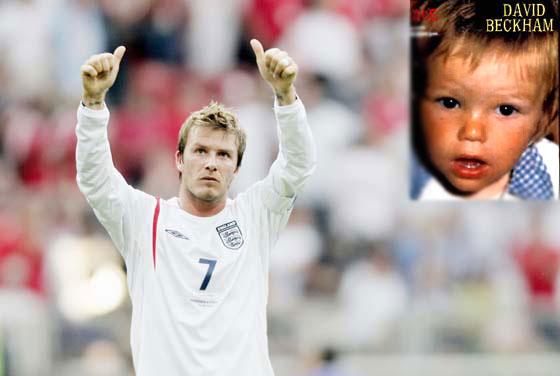组图 世界足球巨星儿时照片大曝光