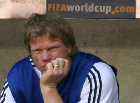 组图:德国2-0瑞典 场下沉默的卡恩