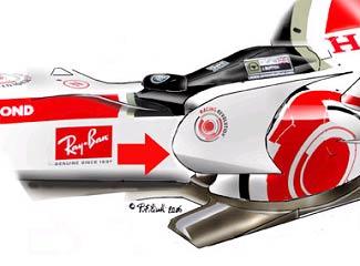 本田RA106-加大侧箱挡板