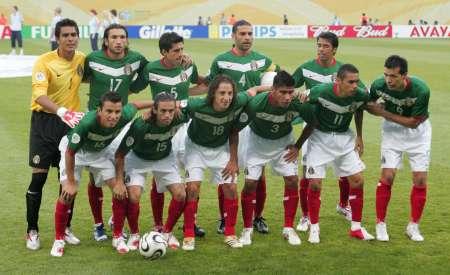 图文:阿根廷VS墨西哥 墨西哥首发阵容