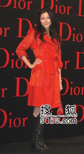赵薇嘉欣亮相Dior派对 林志玲露黑Bra泄春光