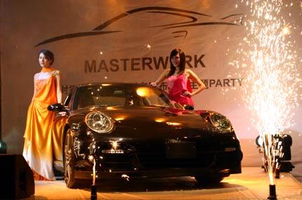 保时捷中心迎来第六代保时捷911 turbo高清图片