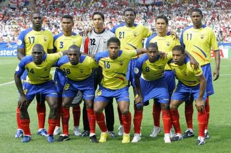 图文:英格兰VS厄瓜多尔 厄瓜多尔首发阵容
