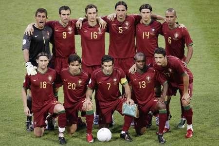 图文:葡萄牙VS荷兰 葡萄牙首发阵容