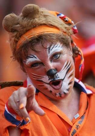 """图文:葡萄牙VS荷兰 荷兰""""小老虎"""""""