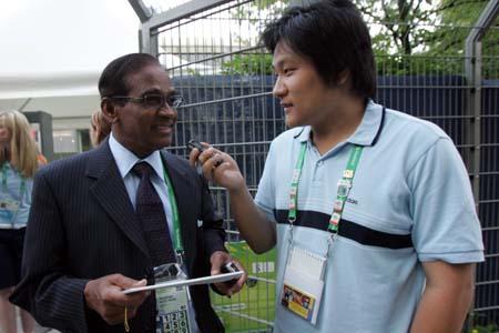 搜狐专访维拉潘:看好德国巴西 对亚洲球队失望