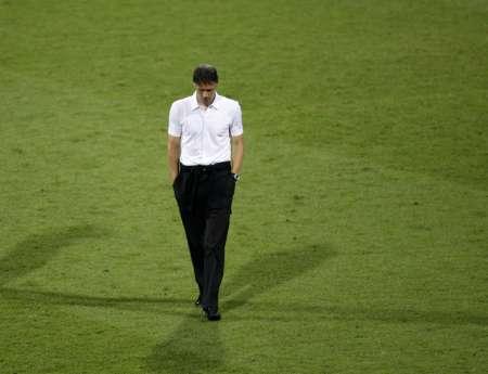 组图:葡萄牙1-0荷兰 范-巴斯滕很失落