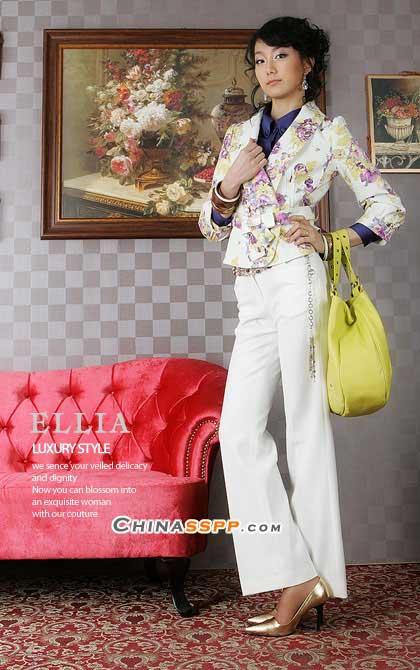 高贵华丽韩国气质女装