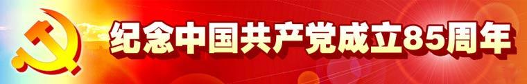 纪念中国共产党成立85周年