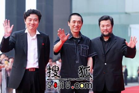 北京国际体育电影周开幕 张艺谋率众明星登场