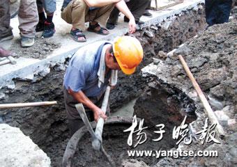 """南京街头传闻有""""文物"""" 知情人称是个粪缸(图)"""