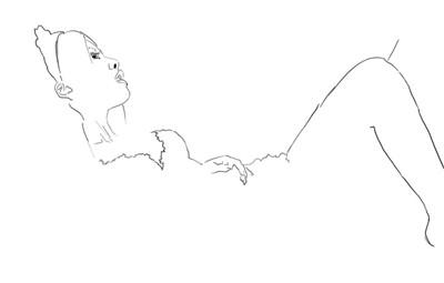 pc专业手绘美女图比照片还要真实