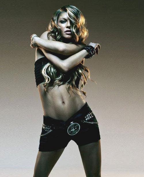 Black Eyed Peas(黑眼豆豆)精彩图片之Fergie-2