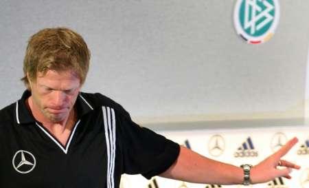 图文:世界杯1/4决赛前瞻 卡恩表情很失落