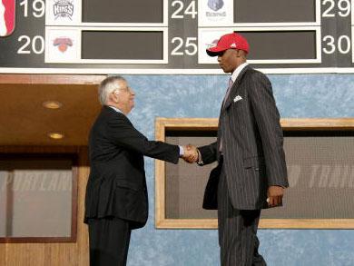 2006年NBA选秀大会第四位:泰伦斯-托马斯