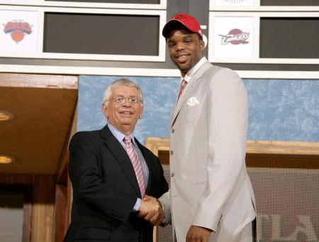 2006年NBA选秀大会第五位:谢尔顿-威廉姆斯
