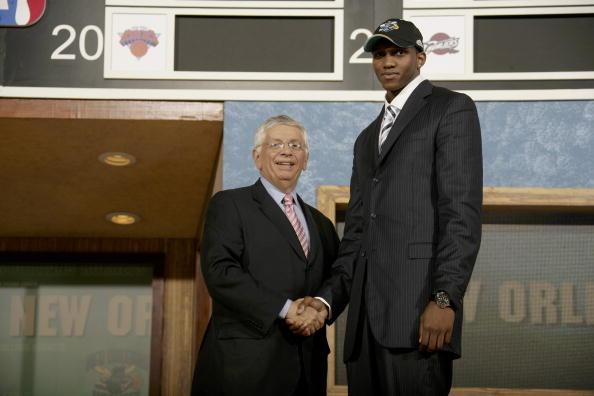图文:2006年NBA选秀 第15顺位塞德里奇-西蒙斯