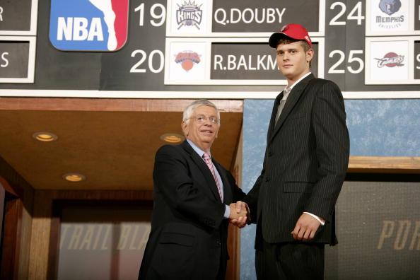 图文:2006年NBA选秀 第30顺位开拓者弗雷兰德
