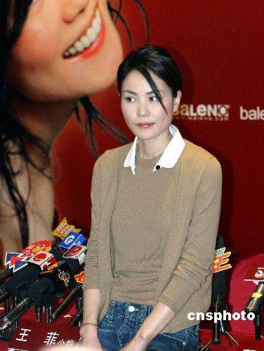 王菲积极瘦身复出 张曼玉前夫相中她做女二号