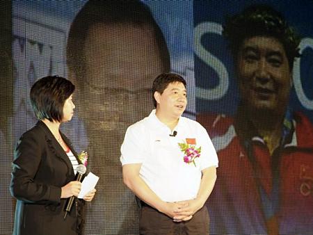 奥运联想千县行公益大使发言