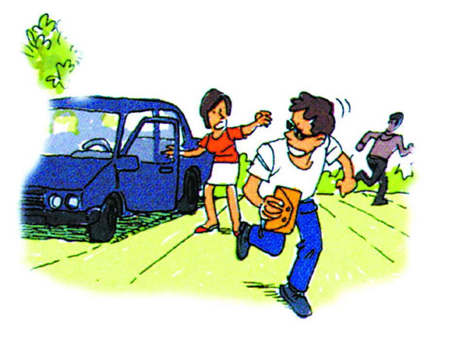 抢劫是指用暴力夺取他人财物的违法犯罪行为.