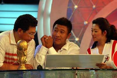 大连电视台世界杯节目 大连帮谈当年与米卢矛盾