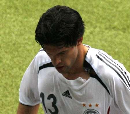 图文:德国VS阿根廷 巴拉克中场休息