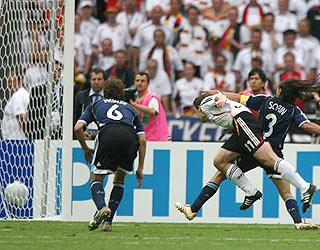 克洛斯头球破门 德国1-1阿根廷