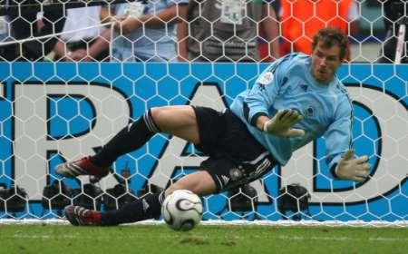 组图:德国5-3阿根廷 莱曼的精彩扑救