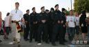 图文:德国5-3阿根廷 德国警察严肃执法