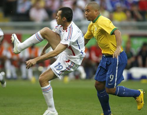 组图:法国1-0巴西 过程是精彩的 结果不重要
