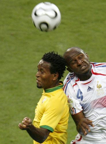 组图:巴西0-1法国 比赛精彩一点都不容错过