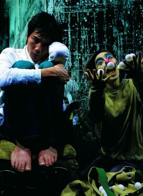 图:话剧《琥珀》主要演员—刘烨