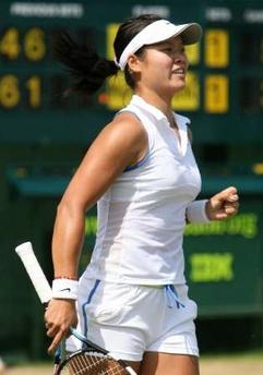 温网-李娜逆转进8强 创中国女网大满贯最佳战绩