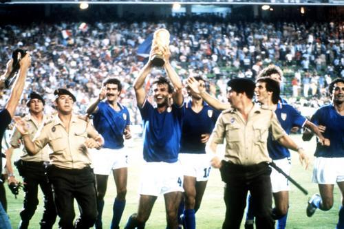 图文:回顾82年世界杯意大利击败西德夺冠